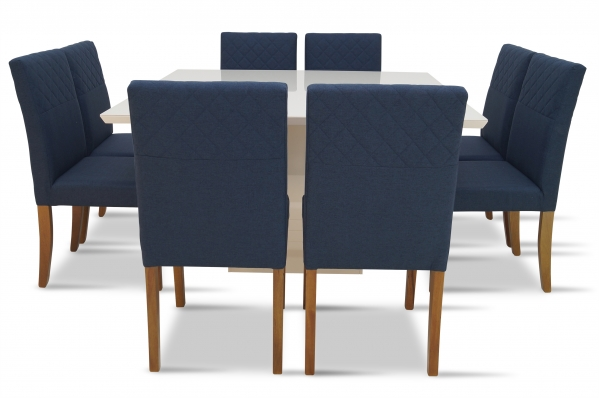 Conjunto Jantar Laís - 1,40 x 1,40m